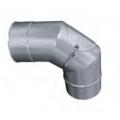 Kolano 90° z rewizją żaroodporne MKSZ Invest MK ŻARY Ø 150mm gr.0,8mm