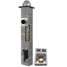 System Kominowy Ceramiczny  JAWAR K Ø 120mm z wentylacją 2-kanałową