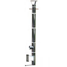 Wkład kominowy żaroodporny MKSZ Invest MK ŻARY Ø 130mm gr.0,8mm