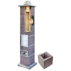 System Kominowy Ceramiczny LEIER Izolowany Ø 200mm