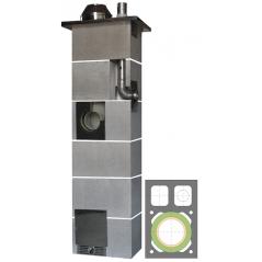 System Kominowy Ceramiczny  JAWAR Kompakt Ø 200mm + 80mm z wentylacją rura izostatyczna