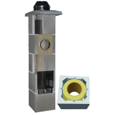 System Kominowy Ceramiczny  JAWAR Uniwersal Plus Ø 160mm rura izostatyczna