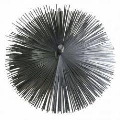 Szczotka kominowa fi 125mm wycior z blaszki