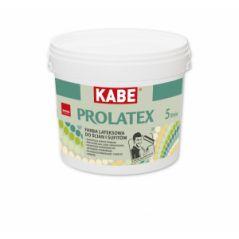 KABE PROLATEX farba lateksowa do ścian i sufitów, matowa, 10 litrów