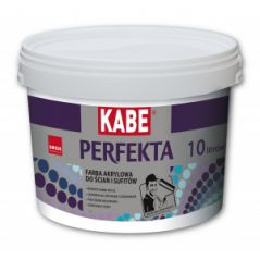 KABE PERFEKTA farba akrylowa do ścian i sufitów, 15 litrów