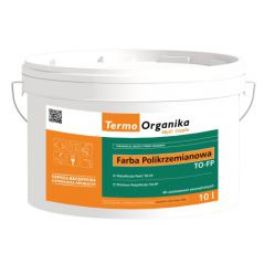 Farba polikrzemianowa Termo Organika TO FP, 10 l