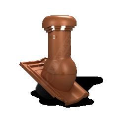 Kominek wentylacyjny TILE PRO Ø 150mm do dachówki z odpływem kondensatu