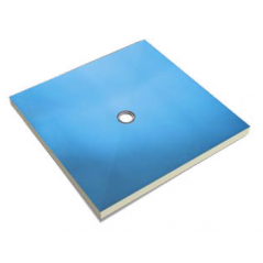 BOTAMENT PD C płyta brodzikowa z odpływem punktowym - centralnym