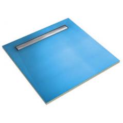 BOTAMENT LD-2S płyta brodzikowa z odpływem liniowym, dwuspadkowa