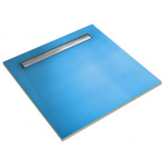 BOTAMENT LD-4S płyta brodzikowa z odpływem liniowym, czterospadkowa