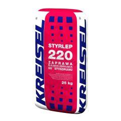 Klej uniwersalny do styropianu i siatki Kreisel Styrlep 220, 25kg