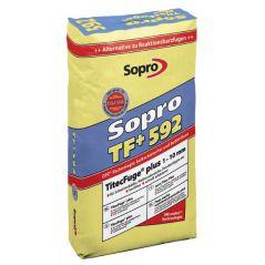 SOPRO TF + (plus) fuga wąska 1-10 mm – wysokowytrzymała, 15 kg