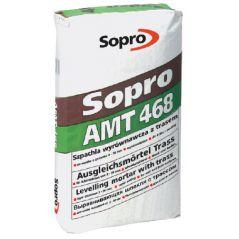 SOPRO szpachla wyrównawcza z trasem AMT 468, 25 kg