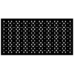 Panel ogrodzeniowy Geometric Swirl-2