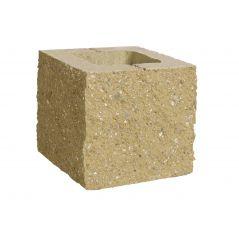 CJBLOK Pustak betonowy elewacyjny PBE-19-2 N1/2 trzystronnie łupany