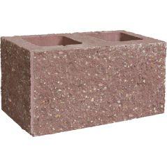 CJBLOK Pustak betonowy elewacyjny PBE-19-3-N trzystronnie łupany narożny