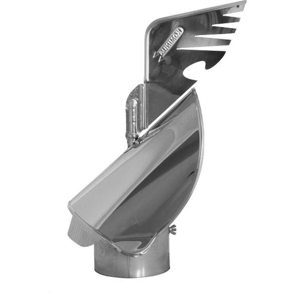 Nasada Rotomax 2 Ø 200mm z podstawą rurową wersja INSIDE®
