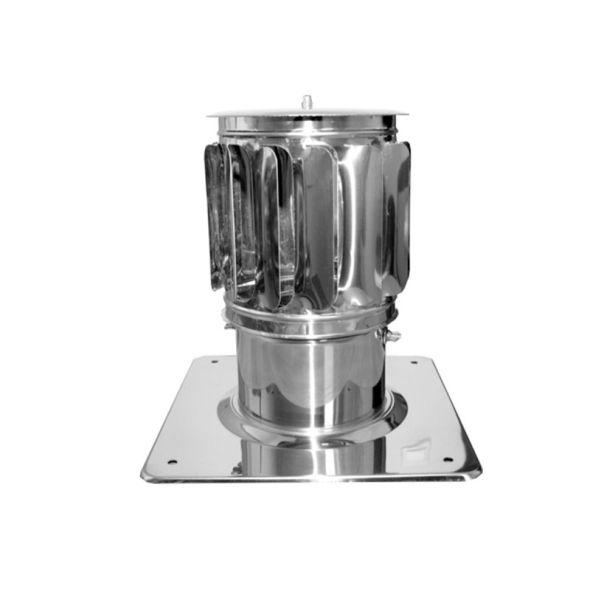 Nasada Turbomax 2 Ø 110mm z podstawą kwadratową