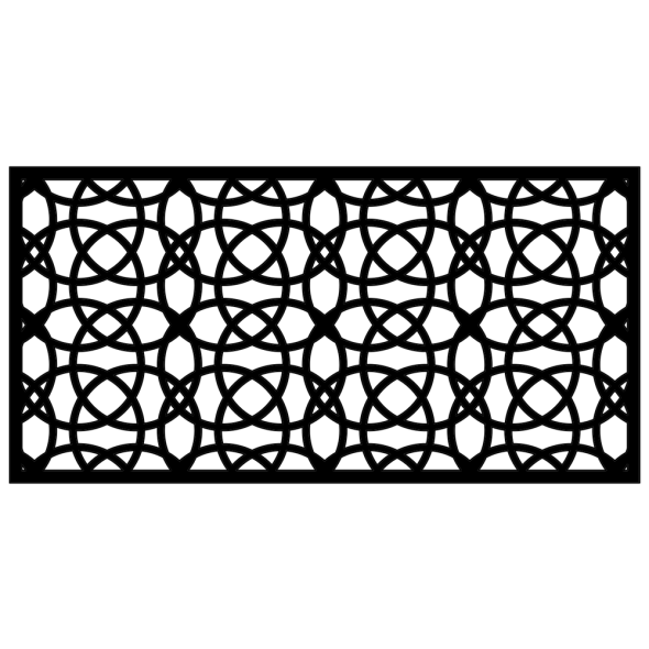 Panel ogrodzeniowy Illusion Hoops