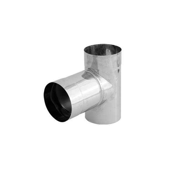 Trójnik 90° nierdzewny SPIROFLEX Ø 120mm