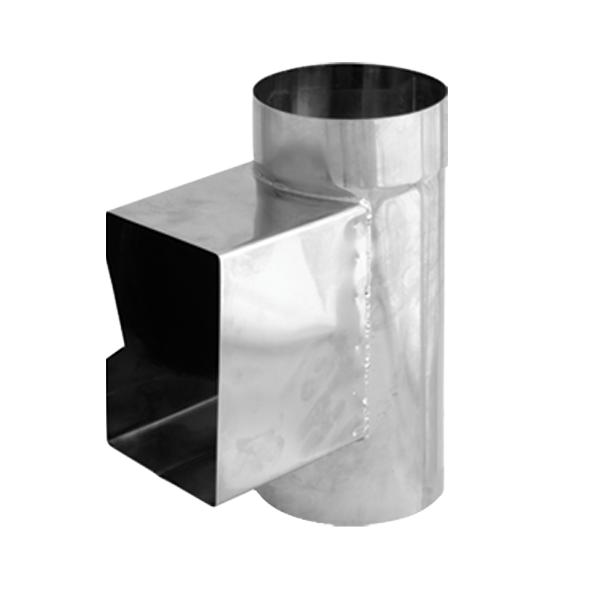 Wyczystka prostokątna nierdzewna SPIROFLEX Ø 200mm