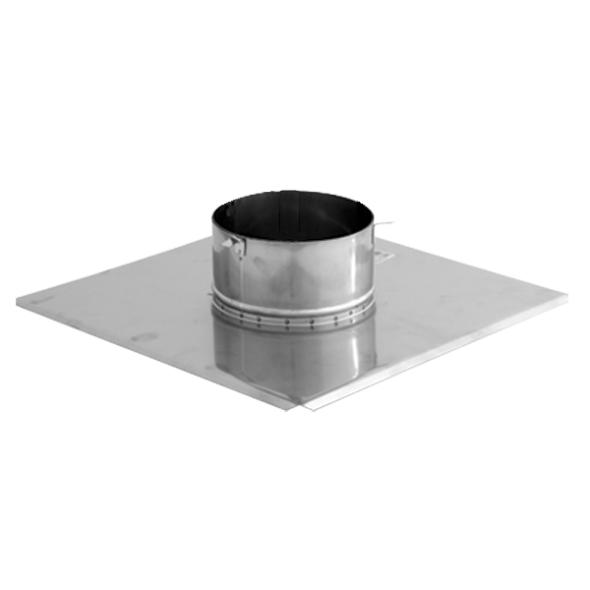 Płyta dachowa wywiewki 2 nierdzewna SPIROFLEX Ø 200mm