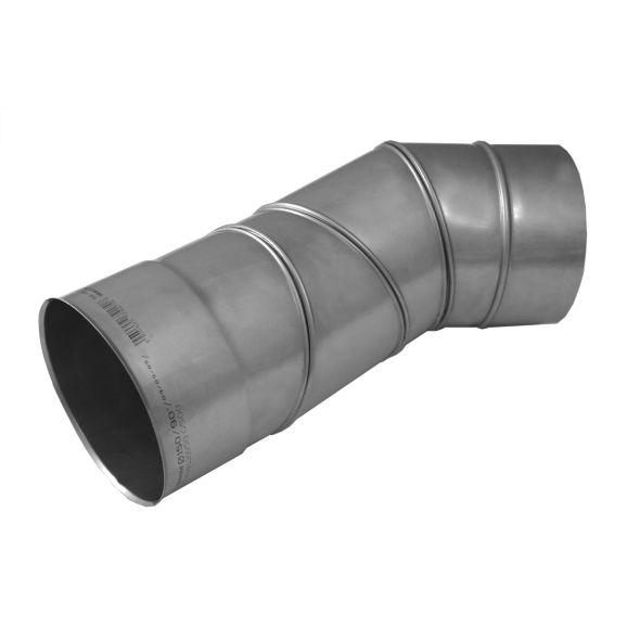 Kolano regulowane 0°-90° KOMINUS KZS Ø 160mm gr.0,8mm