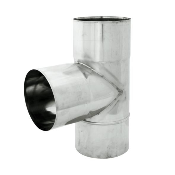 Trójnik 90° żaroodporny SPIROFLEX Ø 150mm gr.1,0mm