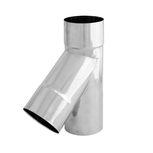 Trójnik 45° żaroodporny SPIROFLEX Ø 120mm gr.1,0mm