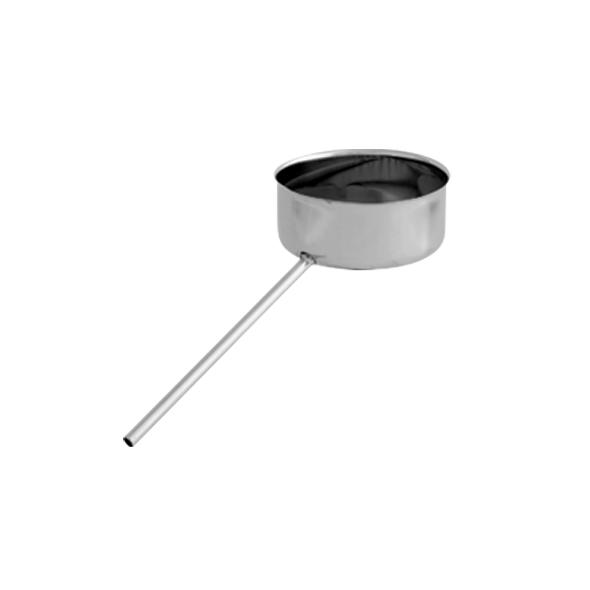 Odskraplacz żaroodporny SPIROFLEX Ø 130mm gr.1,0mm