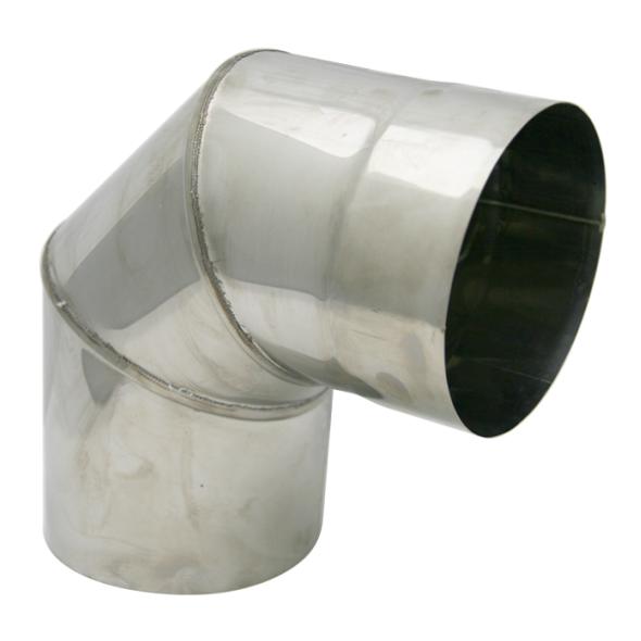 Kolano stałe 90° żaroodporne SPIROFLEX Ø 200mm gr.1,0mm
