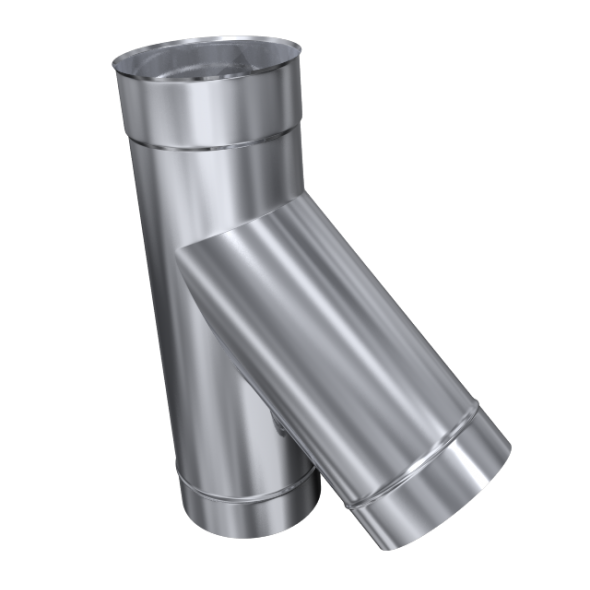 Trójnik 45° żaroodporny MKSZ Invest MK ŻARY Ø 130mm gr.0,8mm