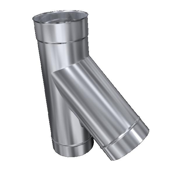 Trójnik 45° żaroodporny MKSZ Invest MK ŻARY Ø 180mm gr.0,8mm
