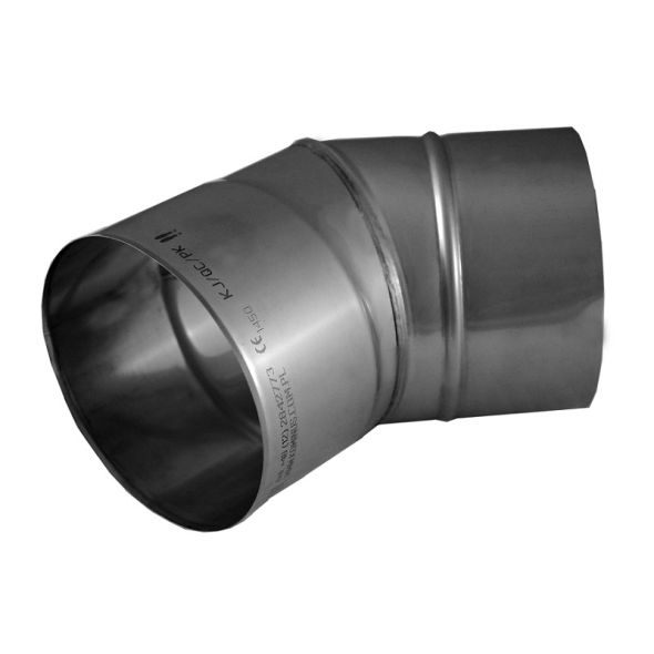 Kolano 30° KOMINUS KZS Ø 200mm gr.0,8mm